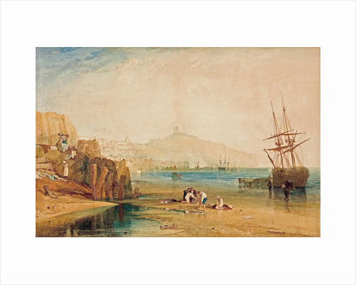Scarborough, morning, boys catching crabs, c. 1810 by Joseph Mallord William Turner