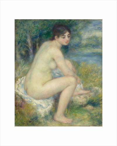 Nude Woman in a landscape, 1883 by Pierre Auguste Renoir
