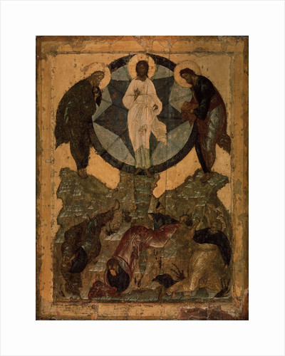 The Transfiguration of Jesus, 1490s by Russian icon