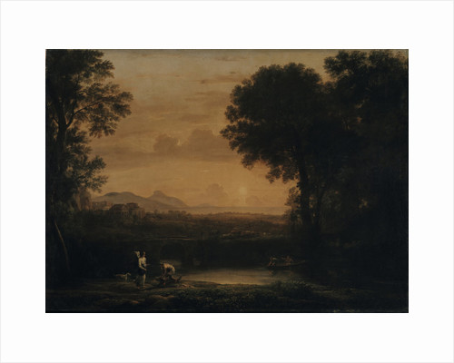 Landscape with Tobias and the Angel, 1663 by Claude Lorrain
