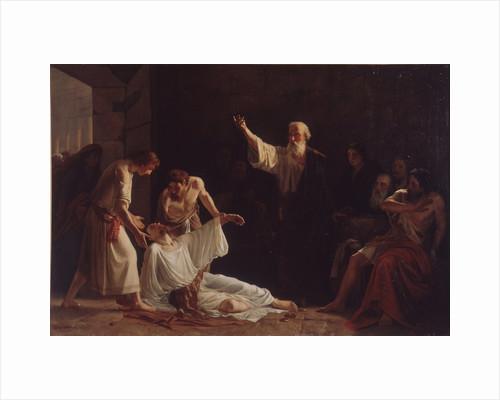 The Punishment of Ananias and Sapphira, 1865 by Alexei Alexeyevich Harlamov