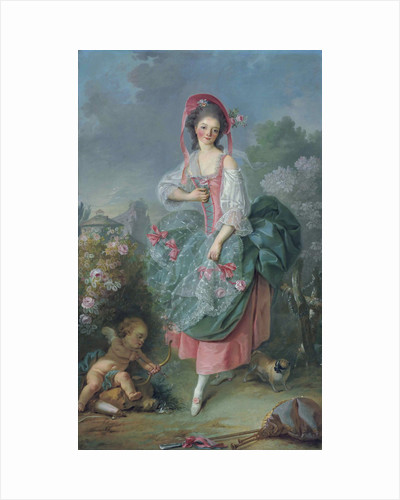 Ballerina Marie-Madeleine Guimard as Terpsichore by Jacques Louis David