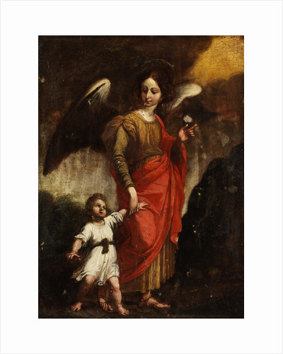 The Guardian Angel by Italian master