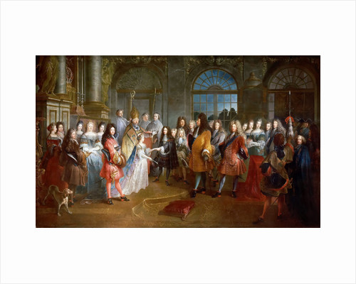 Marriage of Louis of France, Duke of Burgundy, and Marie Adelaide of Savoy, 7 December 1697 by Antoine Dieu