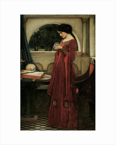 The Crystal Ball by John William Waterhouse
