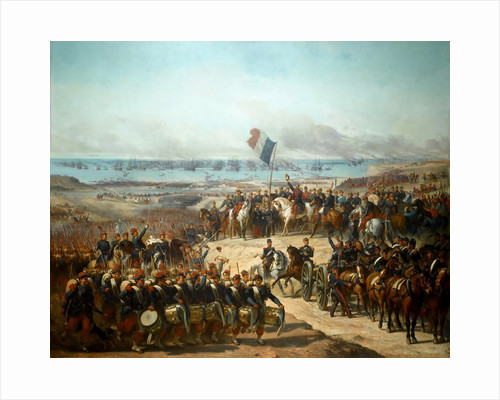 Disembarkation of the French Army at Eupatoria, 14 September 1854 by Félix-Joseph Barrias