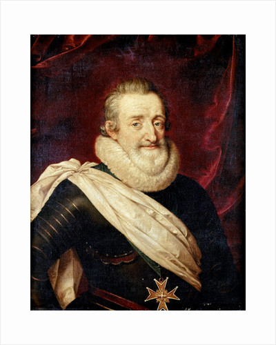 King Henry IV of France by Frans Pourbus the Younger