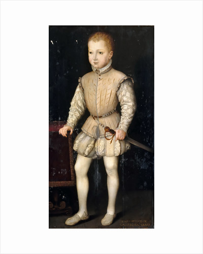 Henry IV of France as Child by François Clouet