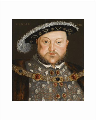 Portrait of King Henry VIII of England by Hans Holbein