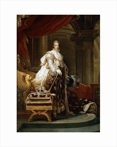 King Charles X of France by François Pascal Simon Gérard