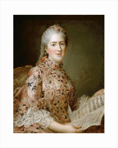 Princess Sophie of France by François-Hubert Drouais