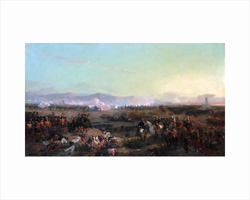 The Battle of the Alma on September 20, 1854 by Eugène Louis Lami