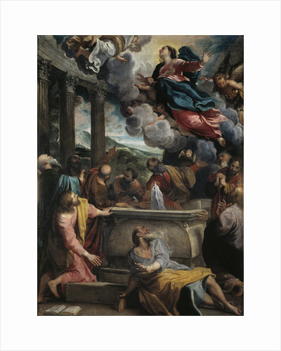 The Assumption of the Blessed Virgin Mary by Annibale Carracci
