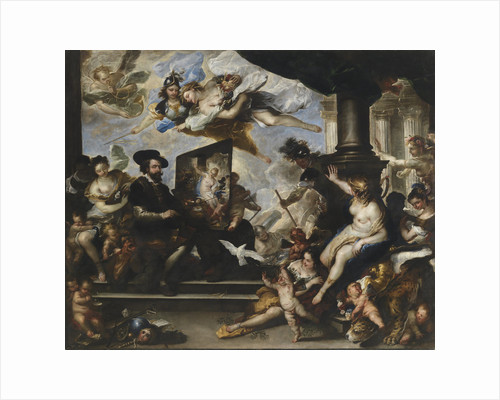 Rubens painting the Allegory of Peace by Luca Giordano