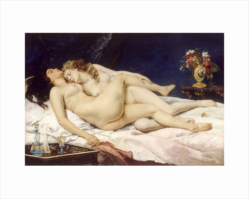 The Sleepers (Le Sommeil) by Gustave Courbet