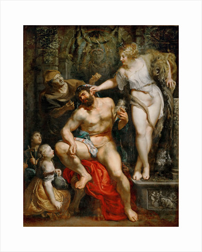 Hercules and Omphale by Pieter Paul Rubens