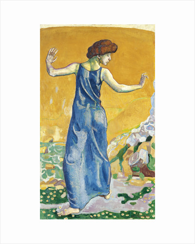 Joyful Woman by Ferdinand Hodler