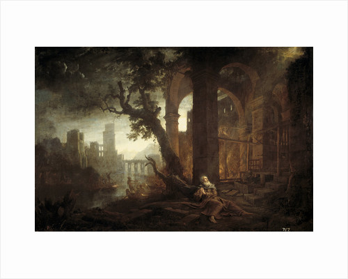 Landscape with the Temptation of Saint Anthony by Claude Lorrain