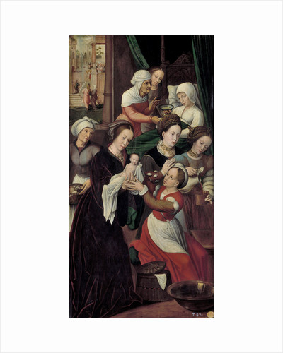 The Nativity of the Virgin Mary by Ambrosius Benson