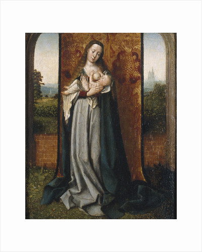 Virgin and child by Jan Provost