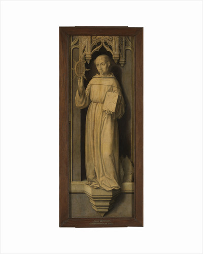 Saint Bernardino of Siena by Jan Provost