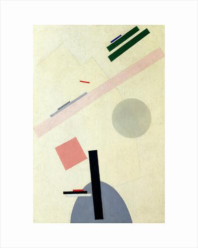 Suprematist Composition by Kasimir Severinovich Malevich