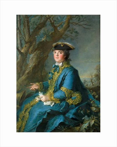Louise Élisabeth of France, Duchess of Parma by Jean-Marc Nattier