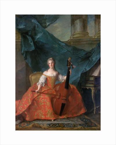 Princess Anne Henriette of France by Jean-Marc Nattier