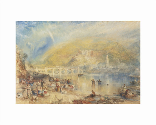 View of Heidelberg with a Rainbow by Joseph Mallord William Turner