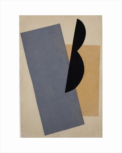 Composition (Blue-Yellow-Black) by Lyubov Sergeyevna Popova