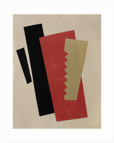 Composition (Red-Black-Gold) by Lyubov Sergeyevna Popova