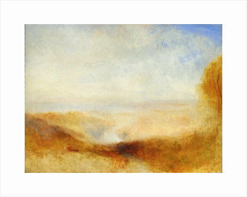 Landscape with a River and a Bay in the Background by Joseph Mallord William Turner