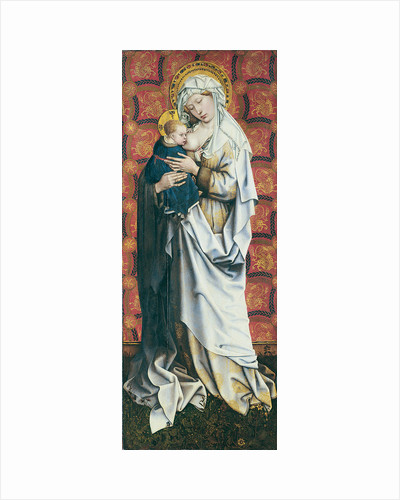 The Flémalle Panels: Virgin suckling the Child by Robert Campin