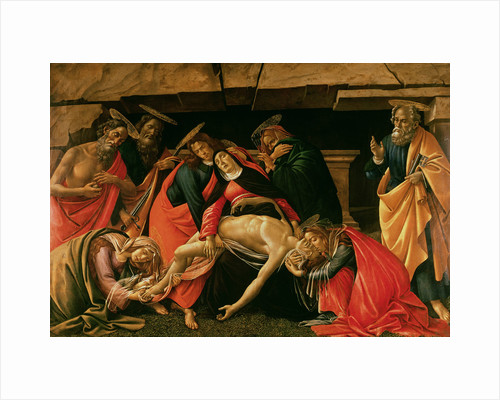 Lamentation over the Dead Christ by Sandro Botticelli