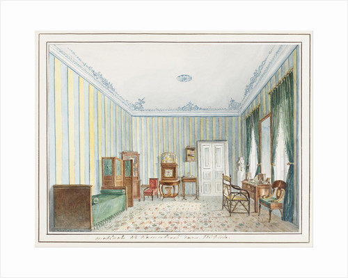 Bedroom in a Country Dacha by Anonymous