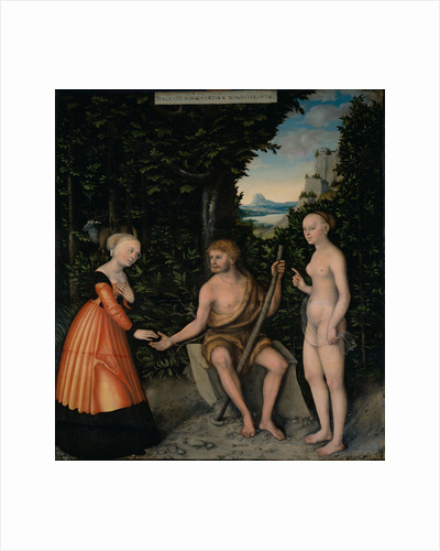 The Choice of Heracles by Lucas Cranach the Elder