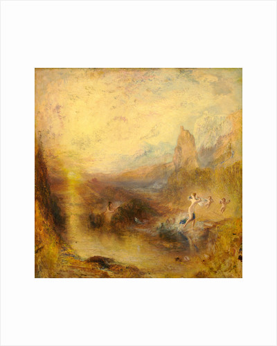 Glaucus and Scylla by Joseph Mallord William Turner
