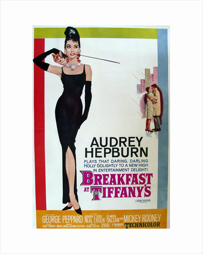 Breakfast at Tiffanys (movie poster) by Anonymous