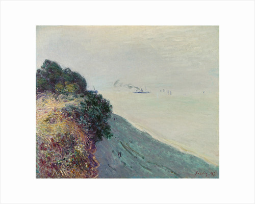 The Welsh coast by Alfred Sisley