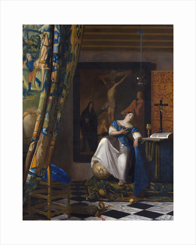 The Allegory of the Faith by Jan Vermeer