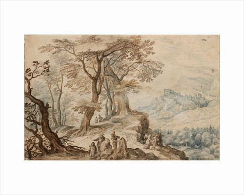 Landscape with Tobias and the Angel by Jan Brueghel the Younger
