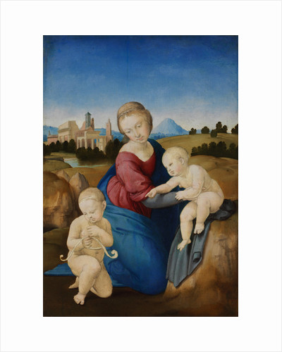 The Madonna and Child with the Infant Baptist (The Esterházy Madonna) by Raphael