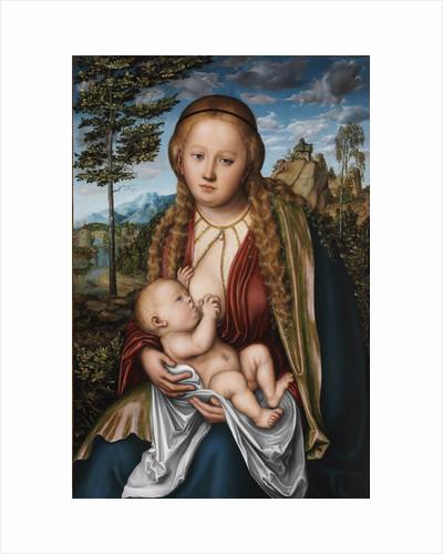 Tthe Virgin suckling the Child by Lucas Cranach the Elder