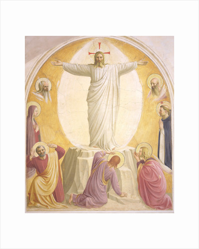 The Transfiguration of Jesus by Fra Giovanni da Fiesole Angelico