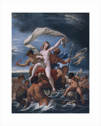Neptune and Amphitrite by Sebastiano Ricci