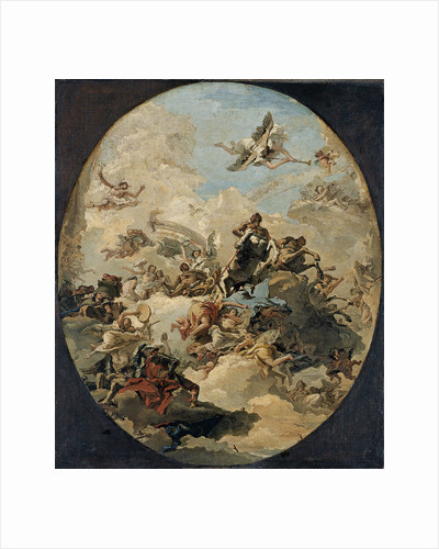 The Apotheosis of Hercules by Giandomenico Tiepolo