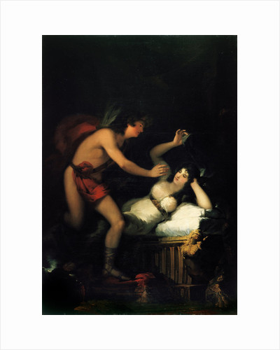 Allegory of Love (Cupid and Psyche) by Francisco de Goya