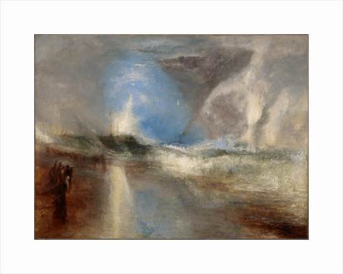 Rockets and Blue Lights (close at Hand) to warn Steam-Boats of Shoal-Water by Joseph Mallord William Turner