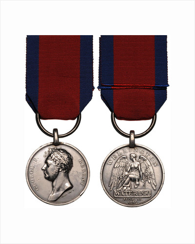 The Waterloo Medal by decorations and medals Orders