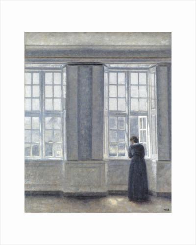The Tall Windows by Vilhelm Hammershøi